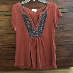 Beaded Front Top